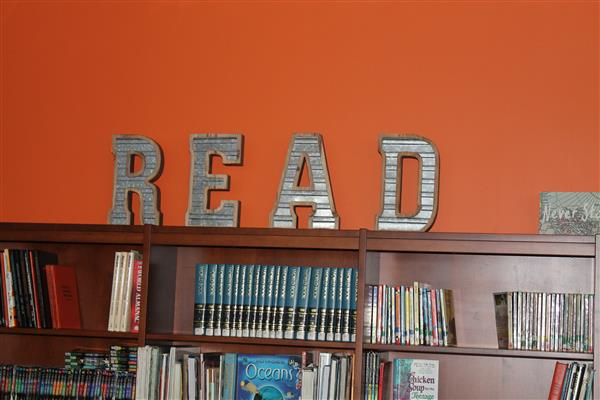 Library Decor at AMS